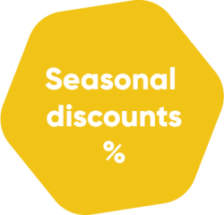 Self Storage Seasonal discount